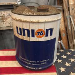 ユニオン76 オブジェ ガソリン缶 USA製 アンティーク オイル缶 ガーデニング UNION76 【161225】 /god0500