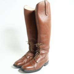 フランス製 ジョッキー乗馬ブーツ メンズ25.0cm SOUBIRAC 【170130】 40 /bok2251