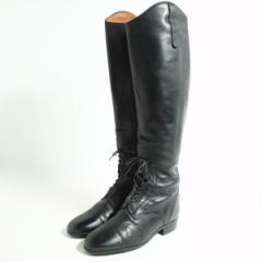 アリアト イタリア製 ジョッキー乗馬ブーツ 7.5 レディース24.5cm ARIAT 【170202】 /bok2303