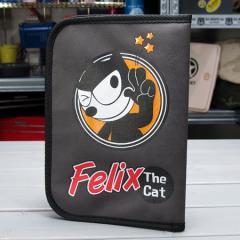 フィリックス・ザ・キャット 車検証入れ FELIX THE CAT グレー_DF-KGAZF412GY-MON