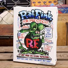 ラットフィンク ポスター キャンバスパネル Rat Fink PRESIDENT サイズS_SP-RAF451PR-MON