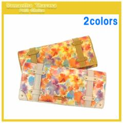 サマンサタバサ プチチョイス 財布 イタリアンフラワー かぶせ長財布 全2色