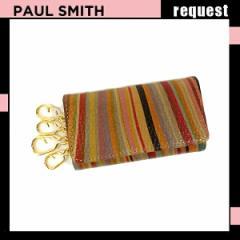 ポールスミス 財布 Paul Smith ポール スミス ヴィンテージ アウトライン 4連キーケース PWU013 新作 2013