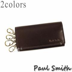 ポールスミス 財布 メンズ Paul Smith コードバン キーケース PSU991 全2色