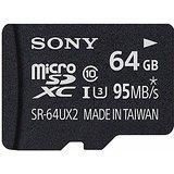 送料無料!ソニー microSDXCメモリーカード 64GB Class10 UHS-I SR-64UX2A(4548736024120)