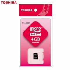 ▼【東芝 SDHC】4G【SDHCカード メモリー 保存 】 SD-ME004GS【TC】【OHM】