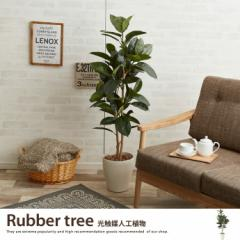 【g46029】観葉植物 ゴムの木 ゴム rubber tree rubbertree 室内 イミテーショングリーン 人工 造花 植物 大型 光触媒 おしゃれ グリーン