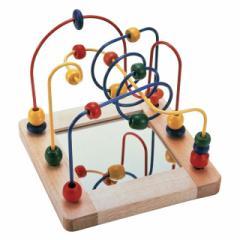 【即納】エド・インター 森のあそび道具ビーズコースター おもちゃ 木のおもちゃ 木製 木育 知育玩具