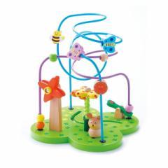 【即納】エド・インター 森のあそび道具おさんぽくまさん おもちゃ 木のおもちゃ 木製 木育 知育玩具