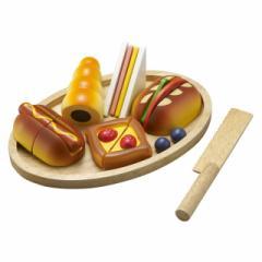 【即納】エド・インター 職人さんごっこ パン職人 おもちゃ 木のおもちゃ 木製 木育 知育玩具 出産祝い