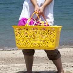 【送料無料★】マハロバスケット [MAHALO BASKET] エコバッグ【トートバッグ 手提げ袋 買い物袋