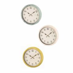 枚数限定200円クーポン獲得可★電波時計 エアリアルレトロ Aerial Retro W-571 掛け時計 壁掛け時計 おしゃれ 時計 壁掛