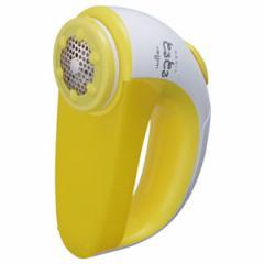 毛玉取り機 毛玉取り器 クリーナー 乾電池式 イズミ イエロー