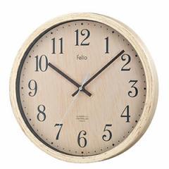 壁掛け時計 かけ時計 ウォールクロック 電波時計 ティンバー(木目調/北欧/おしゃれ)