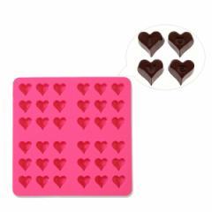 チョコレート 抜き型 形 バレンタイン 手作り シリコンモールド LOVE/ラブ