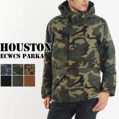 ≪在庫限り!最終価格!≫送料無料 HOUSTON ヒューストン ECWCS パーカー メンズ ジャケット マウンテンパーカー ライトアウター