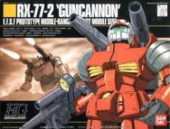4902425729183:HGUC 1/144 (001)RX-77-2 ガンキャノン (機動戦士ガンダム)(再販)【新品】 ガンプラ プラモデル
