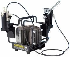 4973028111095:Mr.リニアコンプレッサー L5/エアブラシセット PS321【新品】 GSIクレオス エアーブラシシステム