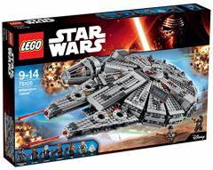 7000100014610:レゴ スター・ウォーズ 【ワケアリ】 ミレニアム・ファルコン[TM] 75105【新品】 LEGO スターウォーズ 知育玩具