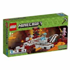 5702015865456:レゴ マインクラフト 暗黒界の線路 21130【新品】 LEGO Minecraft 知育玩具