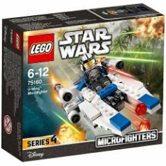 5702015866484:レゴ スター・ウォーズ マイクロファイター Uウィング 75160【新品】 LEGO スターウォーズ 知育玩具