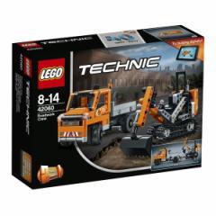 5702015869676:レゴ テクニック 道路工事トラック & ショベルカー 42060【新品】 LEGO 知育玩具