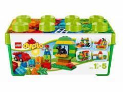 5702015115551:レゴ デュプロ みどりのコンテナデラックス 10572【新品】 LEGO 知育玩具