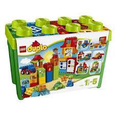5702015128803:レゴ デュプロ みどりのコンテナスーパーデラックス 10580【新品】 LEGO 知育玩具