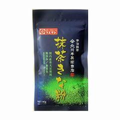 上万糧食製粉所 抹茶きな粉 90g[きな粉/抹茶/大豆/イソフラボン]