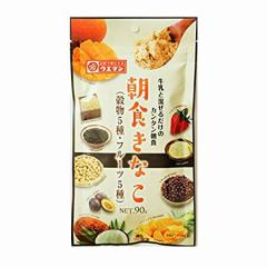 上万糧食製粉所 朝食きなこ 90g[きな粉/フルーツ/大豆/イソフラボン/ヨーグルト]