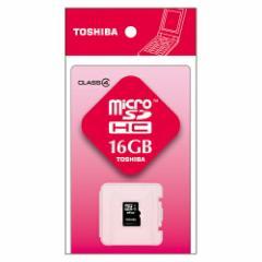 [東芝] microSDHCメモリカード 16GB Class4 SD-ME016GS
