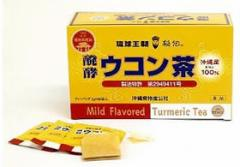琉球王朝 醗酵ウコン茶(2g×60袋)【琉球バイオリソース】(ティーバッグ うこん茶 うっちん茶)