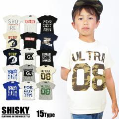 【店内全品送料無料】SHISKY S/S 選べる15種プリント 半袖 Tシャツ