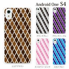 android One S4 yモバイルスマホケース 携帯ケース アンドロイド 携帯のカバー 手帳型スマホケース アーガイルチェック