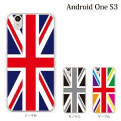 android One S3 yモバイルスマホケース 携帯ケース アンドロイド 携帯のカバー 手帳型スマホケース ユニオンジャック 模様 柄