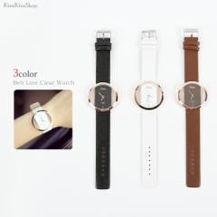 ベルトラインクリアウォッチ レディース 腕時計 リストウォッチ メンズ ユニセックス ブレスレット //5//wat5003
