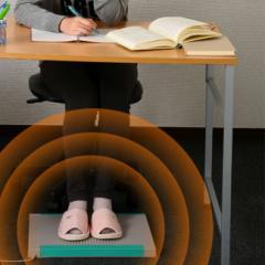 即納 プレミアム足温器 デスクスパ DS-3 温波式足温器(オフィスの足元に!電気代も安い/省エネで安全な暖房器具(脚温/足温機/暖房機器)