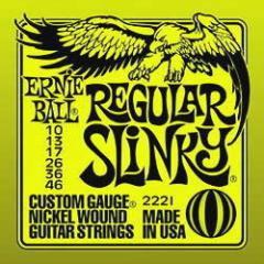 アーニーボール ERNIE BALL #2221 Regular Slinky エレキギター弦【送料無料】