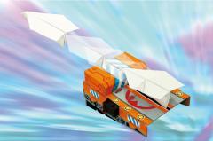 ぶっとび!飛行機シューター 子供用 紙飛行機 ゲーム 図工 工作 おもちゃ 遊び アーテック 55840