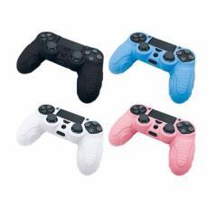 プレイステーション4 PS4 コントローラー用シリコンカバー 簡単装着&長時間プレイが疲れない アローン ALG-P4CSC