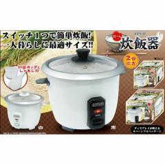 D-STYLIST お一人炊飯器 黒 ピーナッツ・クラブ KA-00286