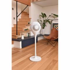 新世代扇風機 360度拡散・送風 デュフュージョンファン ホワイト アピックス AFD-608R(WH)
