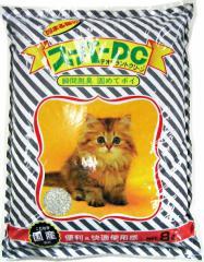 猫砂 スーパーキャット スーパーDC(猫砂)8L 【鉱物系の猫砂/ねこ砂/ネコ砂】【猫の砂/猫のトイレ】【猫用品/ペット用品】