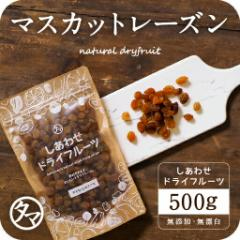 【送料無料】サンマスカットレーズン(500g/オーストラリア産) ドライフルーツ 無添加 砂糖不使用 ノンオイル ポリフェノール