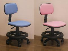 学習椅子(学習チェア)回転 キャスター付き 高さ調節 昇降式 布地 足載せ ステップ付き/学習イス 学習机椅子 学習机用 勉強 椅子 いす