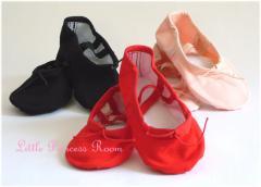【子供バレエ】【MIYU】<やわらかインソール・キャンバスバレエシューズ>【靴 シューズ 衣装 キッズ 子ども 子供靴 発表会 バレエ用品