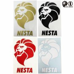 NESTA / ネスタ/ ネスタブランド ステッカー 縦タイプ 中 カッティングステッカー