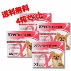【動物用医薬品】マイフリーガードα犬用 XS 5kg未満用 3本入 4箱セット
