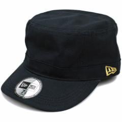 NEWERA ニューエラ キャップ CAP 帽子 WM-01 ミリタリー ワークキャップ ブラック ゴールドフラッグ(N0000190 SC/11135297)