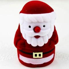 サンタクロースギフトケース おもしろ ラッピングボックス 指輪 リング ピアス イヤリング ネックレス 贈り物 店舗用 業務用 個性的 ユニ